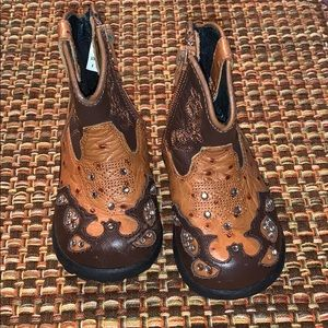 Gently used Roper boots Toddler